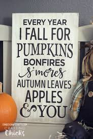 Crafting Chicks Fall Sign