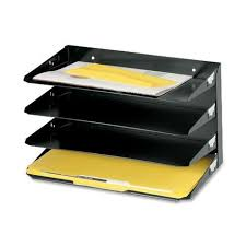Walmartca Desk Organizer by Mmf Industries 4 Tier Legal Size Horizontal Steel Desk Organizer