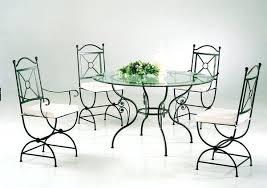 table de cuisine ronde en verre table de cuisine en fer forge table de cuisine ronde en bois table
