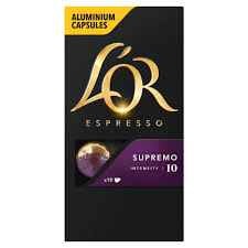 L'OR Espresso Supremo Intensity 10 - Nespresso* Compatible Coffee Capsules  X 10 (Pack Of 10, 100 Capsules In Total) Npresso Coupon Code Uk Joann Fabrics Coupons Text Newegg Business Coupon Pour Iogo Grocery Gems Review Master Origin Nicaragua Linen Chest Canada Players Choice 2018 Hawaiian Rolls Gourmesso Decaf Peru Dolce 5x Pack 50 Coffee Capsules Compatible With Npresso Cups Kortingscode Voucher Bed Bath And Beyond Croscill Spine Sdentuniverse Flight Baileys Chainsaw Call Of Duty Advanced Wfare Pods Deals Steals Glitches