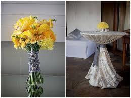 Modern Rustic Vintage Yellow Grey Ranch Wedding 2