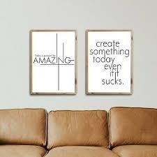 motivation poster set spruch bilder büro wohnzimmer