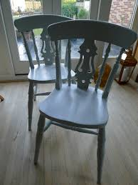 100 Dining Chairs Painted Wood 2 Painted Wooden Dining Chairs In Anlaby East Yorkshire Gumtree