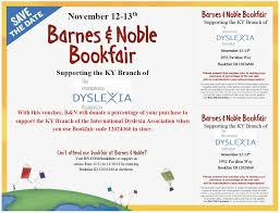 Barnes And Noble Bookfair – Supporting The KY Branch Of IDA – IDA ... Gsa Barnes And Noble Book Fair Garden Of The Sahaba Academy 17 Winter Bookfair Fundraiser Scottsdale Ballet Reminder Support The Hiliners At A This Saturday Parsippany Hills High School Notices Npr Burbank Arts For All An Education Nsol Bookfair Ceo Resigns Nook Gets New Boss Tablet News Spotlight Circus Juventas Read On Tucson Family