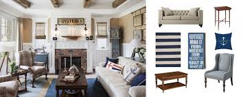 Nautical themed Living Room Elegant Real Deal Steal A Nautical