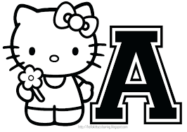 Hello Kitty Birthday Cake Coloring Pages Halloween Printables Christmas Online Free Printable Party Invitations Activit
