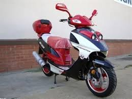 Tao 150cc CY150 D Gas Moped