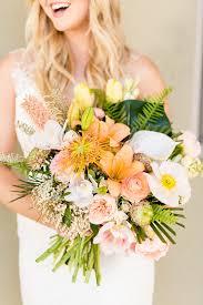 Tropical Pastel Wedding Inspiration Ruffled