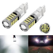 bright 1200 lumens 92 pcs 4014 chipsets 3157 led bulbs use