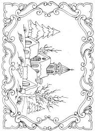 Pyrography Coloring For AdultsAdult PagesColoring BooksChristmas ScenesChristmas