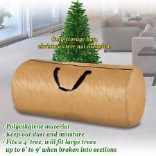 Large Artificial Christmas Tree Carry Round Storage Bag Holiday Clean Up To 9ft