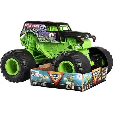 Monster Jam Grave Digger Monster Truck Diecast - Scale 1:10