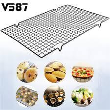 grille cuisine 25x40 cm en acier inoxydable de refroidissement rack maille grille