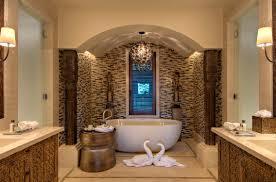 Modern Chandelier Over Bathtub by Download Bali Bathroom Design Gurdjieffouspensky Com