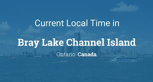 100 Bray Island Current Local Time In Lake Channel Ontario Canada
