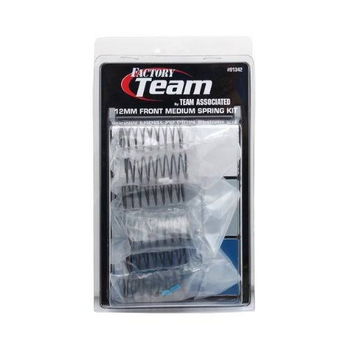 Team Associated 91342 Front Medium Spring Kit - 12mm, 3 Pairs