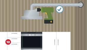 dunstabzugshaube montieren in der küche hagebau de
