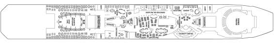 Celebrity Equinox Deck Plan 6 by Celebrity Equinox Celebrity Cruises