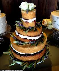 Preparation Because They Are Exposed Naked Cakes Dry Out Faster Than Traditional Ones