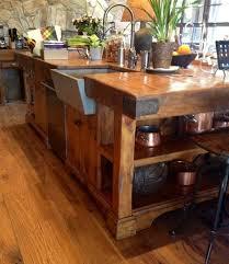 best 25 rustic kitchen island ideas on pinterest rustic kitchen