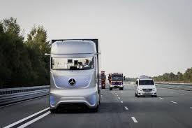 100 Safer Trucking MercedesBenz Future Truck 2025 A Vision Of Where