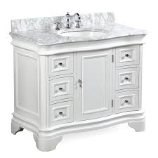 42 Inch Bathroom Vanity With Granite Top by Katherine 42 Inch Bathroom Vanity Carrara White Includes White