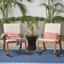 Outdoor Acacia Wood Rocking Chair (Set Of 2), Teak With ... The Gripper 2piece Delightfill Rocking Chair Cushion Set Patio Festival Metal Outdoor With Beige Cushions 2pack Fniture Add Comfort And Style To Your Favorite Nuna Wood W Of 2 By Christopher Knight Home Details About Klear Vu Easy Care Piece Maracay Head Java Wicker Enstver Bistro 2piece Seating With Thickened Blue And Brown Amish Bentwood Rocking Chair Augustinathetfordco Splendid Comfortable Chairs Nursing Wooden Luxury Review Phi Villa 3piece