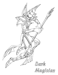 Free Yu Gi Oh Coloring Page Pages 56 Printable