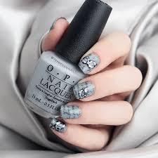50 Shades of Grey Inspired Nail Art – Glam Radar