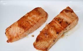 recette pavés de saumon poêlé pas chère et express cuisinorama