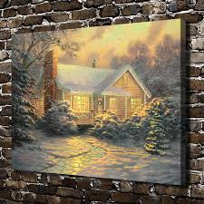 Thomas Kinkade Christmas Tree Village by Online Get Cheap Thomas Kinkade Christmas Cottage Aliexpress Com