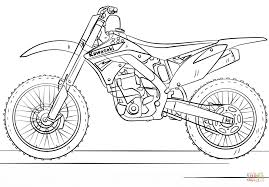 Click The Kawasaki Motocross Bike Coloring Pages To View Printable