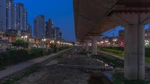 100 South Korean Houses Wallpaper Korea Seoul Street Evening Street Lights 2560x1440