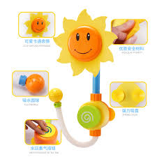 Sunflower Bath Gift Set by New Bricksjl Baby Bath Sunflower Shower Toy Pool Swimming Beach