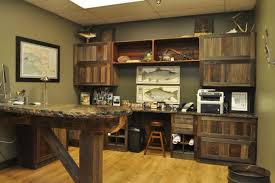 Rustic Home Office Furniture Reclaimed Barn Wood Indianapolis Set
