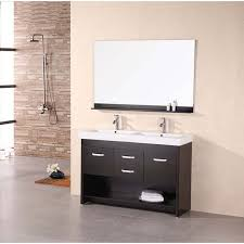 48 Inch Double Sink Vanity White by Design Element Citrus 48