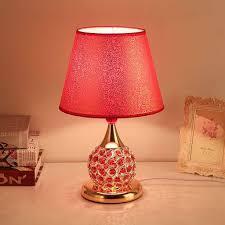 rote k9 kristall tischle led möbel dekoration wohnzimmer