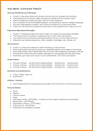 Resume Skills And Interests Section Hobbies To Write In Cv Personal With Regard 89 Surprising What A Images Hobby