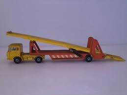 100 Matchbox Car Carrier Truck Y742MATCHBOXLESNEY Super Kings Carrier Car England Made