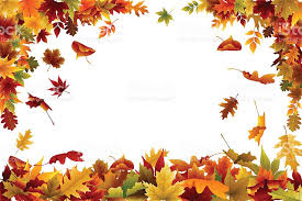 Fall Background Or Wallpaper With Multi Colored Leaves Royalty Free