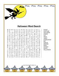 Haunted Halloween Crossword Puzzle Answers by Halloween Books For Children