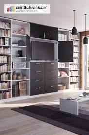 individuelle tv möbel regal mit türen wohnzimmer regal