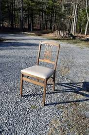Stakmore Folding Chairs Vintage by Vintage Desk And Chair Cast Iron Metal And Wood Silent
