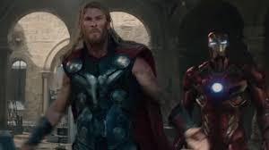 Thor Iron Man Avengers 2