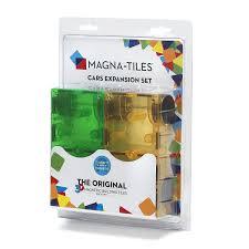 buy magna tiles 16022 cars expansion set multi color 2 pieces