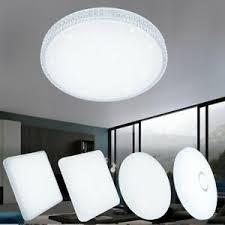 details zu 12w 60w led deckenleuchte deckenle rund wohnzimmer küchen starlight effekt