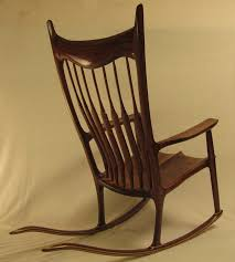 Sam Maloof Rocking Chair Class by Sam Maloof Inspired Walnut Sculptured Rocker Finewoodworking