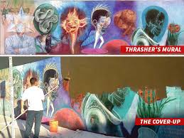 street artist thrasher sues after classic l a mural gets re paint