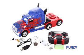 100 Optimus Prime Truck Model Funzy Latest Transformer NO Batteries