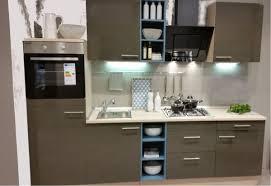 einbauküche mankaonyx 12 in onyxgrau pinie küchenzeile 250 cm ohne e geräte